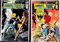 Jonny Quest (Comico) #3 #4  Unused Stock    Ref: HL7.368