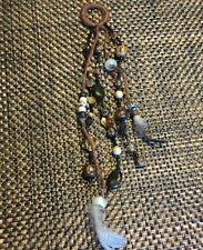 Handmade beaded and feathers Hanging accessory/ornament