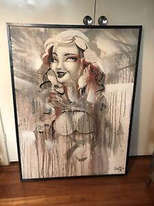Sofles Canvas (Original Piece) 2010