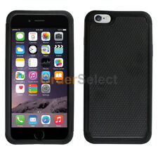 NEW HOT! Hybrid Rugged Rubber Protector Hard Case for Apple iPhone 8 Plus Black