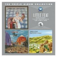 LITTLE FEAT - THE TRIPLE ALBUM COLLECTION (DIXIE CHICKEN/TIME HERO/+) 3 CD NEW+