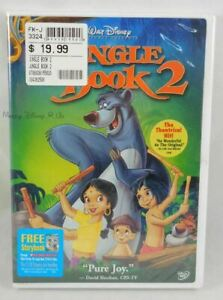 New Walt Disney The Jungle Book 2 DVD Movie Buena Vista Sealed