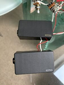 EMG 81 85 Pickups With Pots And Full Solderless Wiring Harness