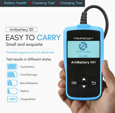 Car Battery Tester 12V AGM Lead-Acid Battery Load Test Cranking Charging Analyer