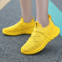 Kids Sports Shoes Running Trainers Girls Boys Outdoor Garden Ankle Sneakers