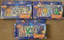 Power Ranger Operation Overdrive Generation figure Set lot of 3 DAMAGED PACKAGIN