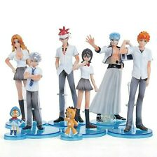 BLEACH/ LOTE 8 PCS 5-14 CM- SET 8 FIGURES ICHIGO RUKIA KUCHIKI AIZEN BOX