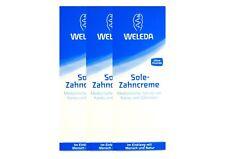 3x Weleda Sole Zahncreme 75 ml