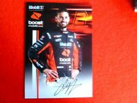 SCOTT PYE HANDSIGNED  8X6 FANCARD  V8 SUPERCARS HOLDEN