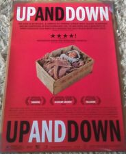 UP AND DOWN MOVIE POSTER 1 Sided ORIGINAL 27x40
