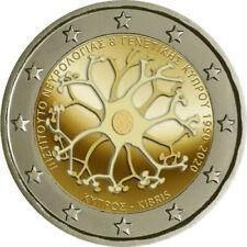 2 euros Chipre 2020. 30 años del instituto de neurología y genética - PREVENTA