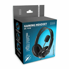 Profi Gaming Headset PS4 Playstation 4 Computer Stereo Sound kabelgebunden 3,5mm