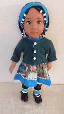 """18"""" Beautiful Friend American doll Biracial/African American Collectible"""