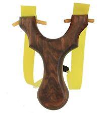 NEW HOT Theraband Slingshot Catapult Wood Hunting Rubber Band Bungee Bloodshot
