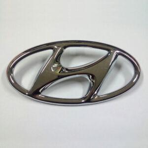 86300 C1100 Hood H Logo Emblem for 2015 2017 Hyundai Sonata