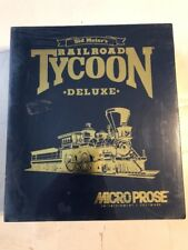 Micro Prose Railroad Tycoon Deluxe Edition