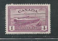 CANADA # 273 Used TRAIN, FERRY (0917)