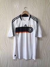GERMANY 2008 2009 HOME FOOTBALL SHIRT SOCCER JERSEY ADIDAS DEUTSCHLAND