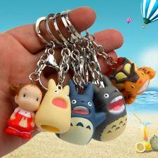Anime Totoro Action Figure Fingerpuppen Keychain Schlüsselring