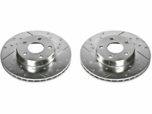 For 1992-1994 Pontiac Sunbird Brake Rotor Set Front Power Stop 11568XT 1993