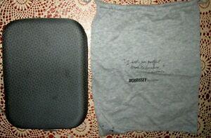 Qantas Hard Case Vintage Amenities Kit MARC NEWSON Grey PLUS Morrissey PJ Bag