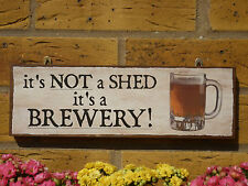 PERSONALISED GARDEN SIGN SHED SIGN BREWERY SIGN HOME BREW WINES BEERS FUNNY SIGN