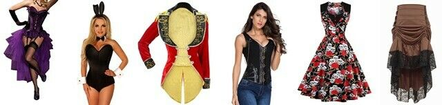 Leopard and Lace Corsets Costumes