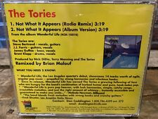 Not What It Appears by The Tories (CD, PROMO Single)