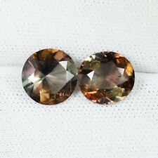 "3.62Cts Best Luster ""Rare"" TOP ANDALUSITE ~UNHEATED Round Pair"