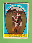 #D297. 1968 SERIES 1 SCANLENS RUGBY LEAGUE CARD #41 RON SADDLER, ROOSTERS