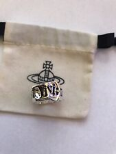 Vivienne Westwood Silver Tone Ring Size Large