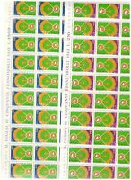S17723) Italy 1973 MNH New Baseball 2v Sheets Whole Not Folded