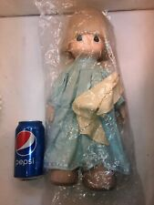 Vtg 1992 Precious Moments ANGEL Christmas Child With Blanket CUTE!!