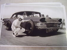 1958 FORD STOCK CAR   IN 1960S 11 X 17  PHOTO /  PICTURE