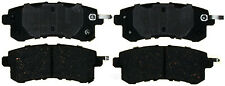 Disc Brake Pad Set-Ceramic Disc Brake Pad Rear ACDelco Pro Brakes 17D1510C