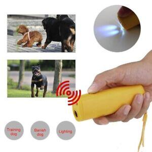 Electronic Dog Repeller Ultrasonic 3 in 1 anti bark/Stop barking/Black colour
