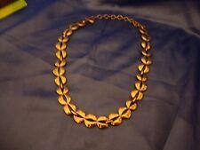 3 vintage silvertone silver tone Monet necklaces chains signed