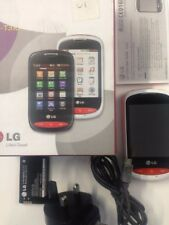 BRAND NEW GENUINE 2G LG T310 BLACK/RED UNLOCKED TO ANY NETWORK IN ORIGINAL BOX
