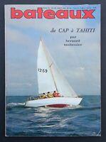 Revue magazine BATEAUX n° 135 aout 1969 Moitessier