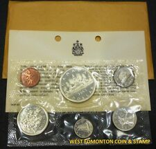 1965 UNCIRCULATED PROOF LIKE SET - CANADIAN 6-COIN SET - ENVELOPE & CERTIFICATE