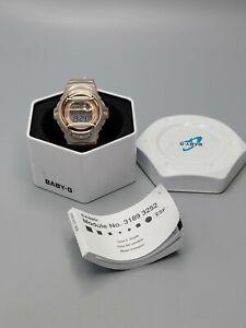 New CASIO BABY G BG169G-4 Champagne Pink Women's Watch NewBattery RunsGreat 42mm