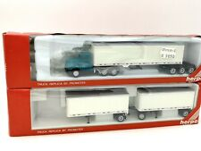 HERPA PROMOTEX HO 1/87 CAMION KENWORTH T600 ROAD TRAIN / TRAIN ROUTIER #6263