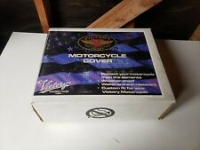 New NOS Victory Motorcycle Packable Storage Cover Black w/o Windshield 2872169
