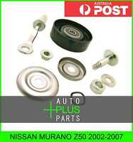 Fits NISSAN MURANO Z50 Idler Tensioner Drive Belt Bearing Pulley