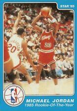 1985 STAR MICHAEL JORDAN 1984-85 ROOKIE OF THE YEAR #288 RETRO REPRINT NBA CARD