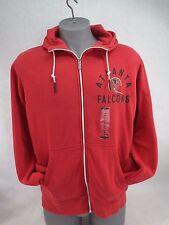 Mens 2xl XXL Nike NFL Atlanta Falcons Hoody Zip Jacket Red 537834-604 b03ea53f2