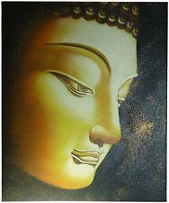 Quadro Buddha Dorato 50x60cm