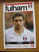 19/01/2008 Fulham v Arsenal  (No Apparent Faults)