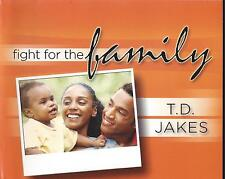 Fight For The Family ! 5 Dvds - Bishop T. D. Jakes - Sale !  Rare !