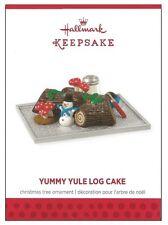 2013 Hallmark Yummy Yule Log Cake Limited Quantity Edition Ornament!